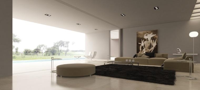 mobili soggiorno moderni tonalita beige