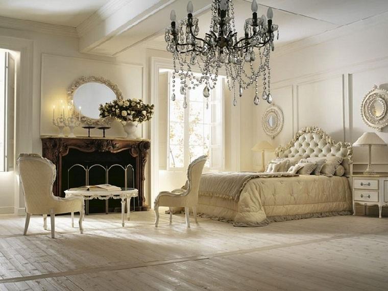mobili stile provenzale camera da letto lussuosa