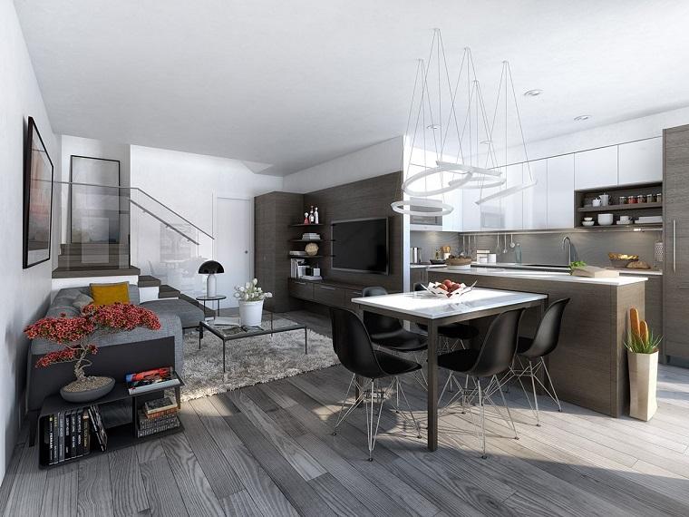 Open space arredamento il nuovo concetto per un for Concetto aperto cucina soggiorno