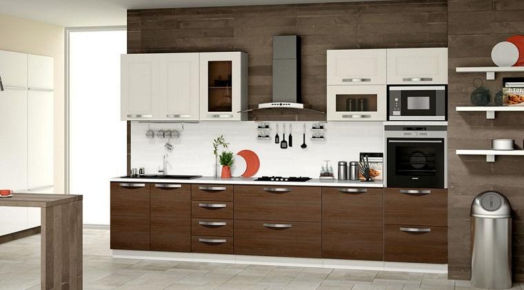 Colori pareti cucina 24 abbinamenti veramente originali - Colori per mobili cucina ...