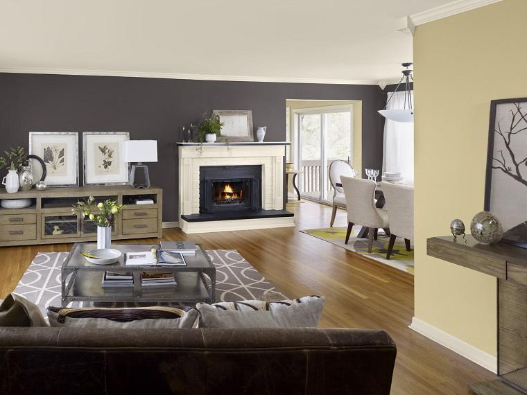 Foto Pareti Colorate : Pareti colorate: come personalizzare living e camere da letto con