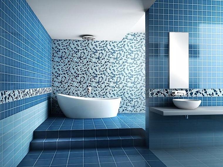 Piastrelle bagno le soluzioni pi innovative per for Piastrelle bagno mosaico grigio