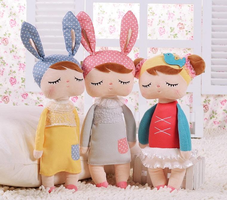 regali nascita uno coniglietti peluche