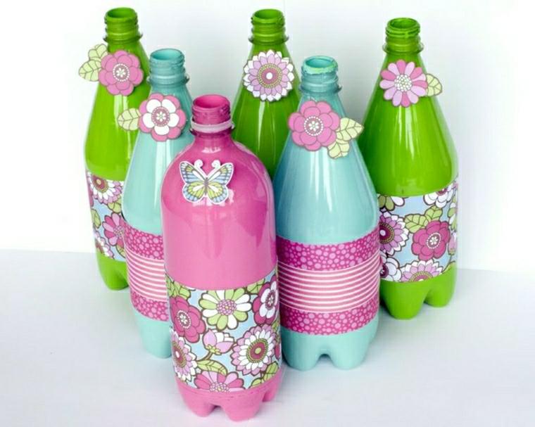 riciclare bottiglie di plastica idea originale