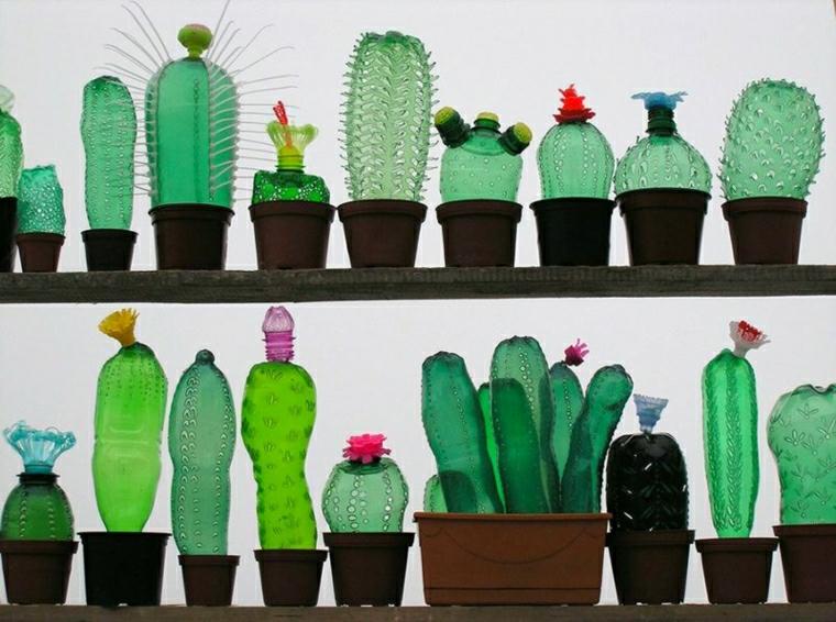 riciclare bottiglie di plastica idea semplice particolare economica
