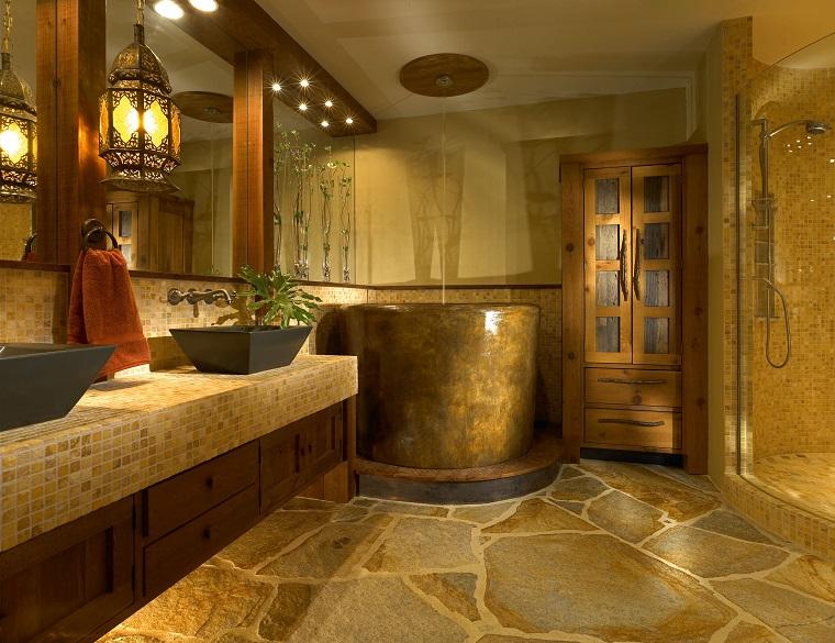 rivestimenti per bagno lussuoso mosaico