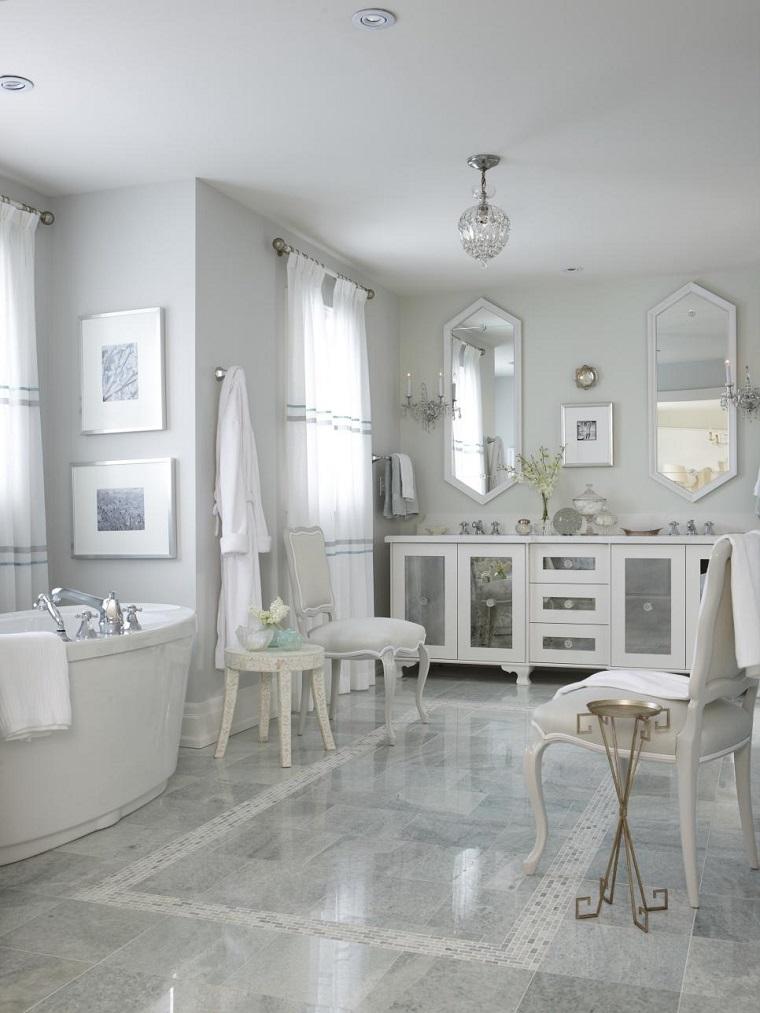 rivestimento bagno design classico marmo