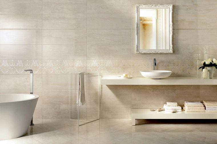 rivestimento bagno design minimal gres porcellanato