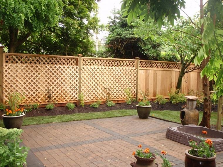 idee separè giardino