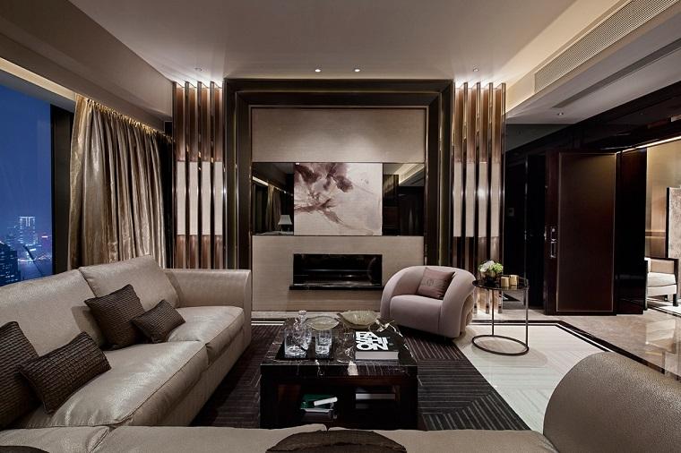 soggiorno moderno proposte design toni beige