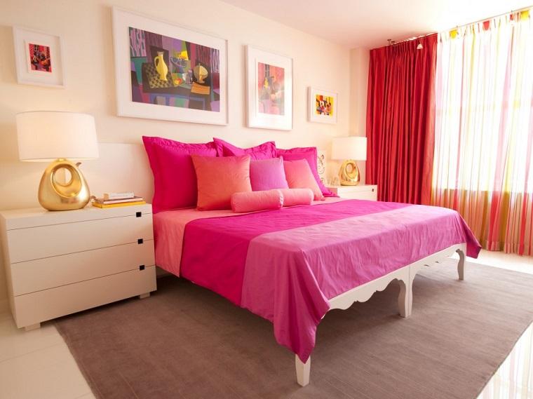 Camere Da Letto Moderne Rosa : Stanze da letto moderne 24 idee a cui è impossibile resistere