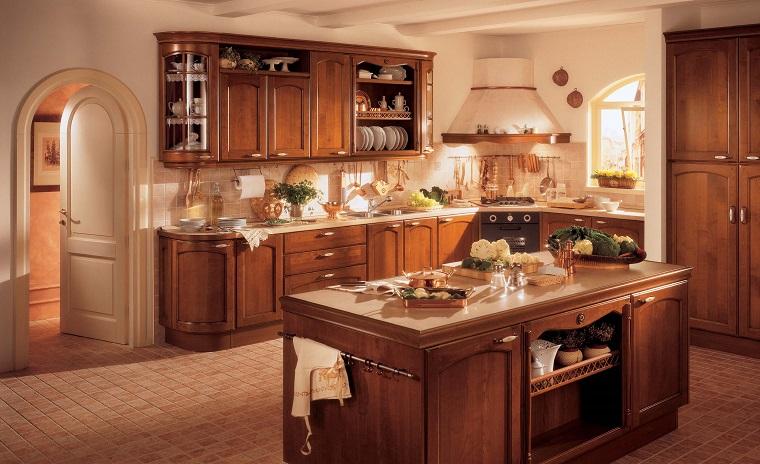 stile classico cucina isola