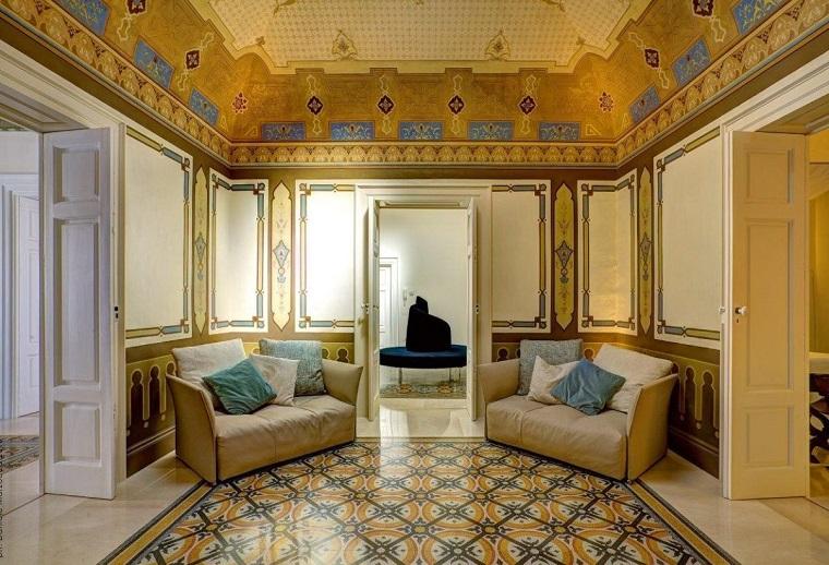 Stile liberty soluzioni chic e raffinate per ogni ambiente dell 39 appartamento - Casa stile liberty ...