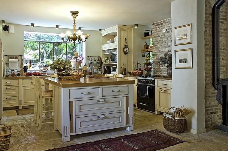 Arredamento provenzale come conferire all 39 intera casa un for Pavimento della cucina in stile artigiano