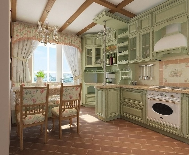Arredamento provenzale come conferire all 39 intera casa un for Cucina provenzale