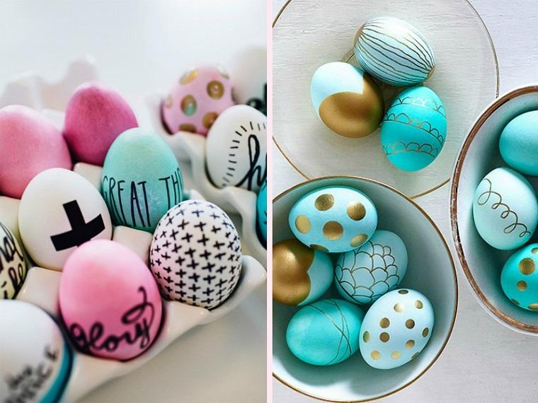 uova pasqua idea decorativa fresca vivace