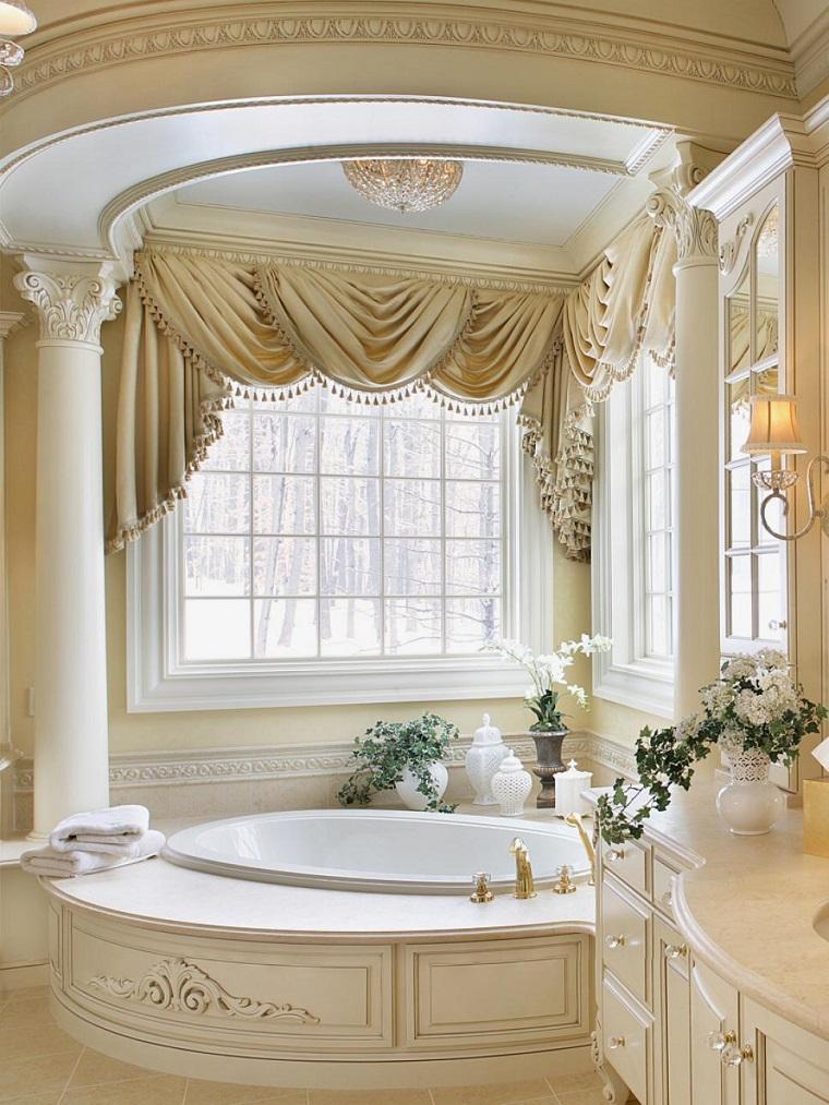 vasca bagno rivestita marmo design classico