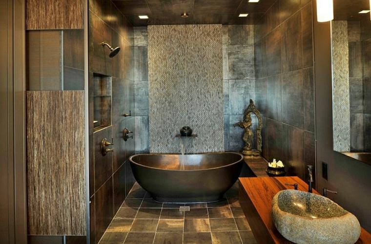 Vasca da bagno con doccia 24 idee da togliere il fiato - Bagno da favola ...