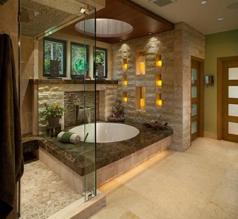 Vasca da bagno con doccia 24 idee da togliere il fiato for Bagno moderno doccia