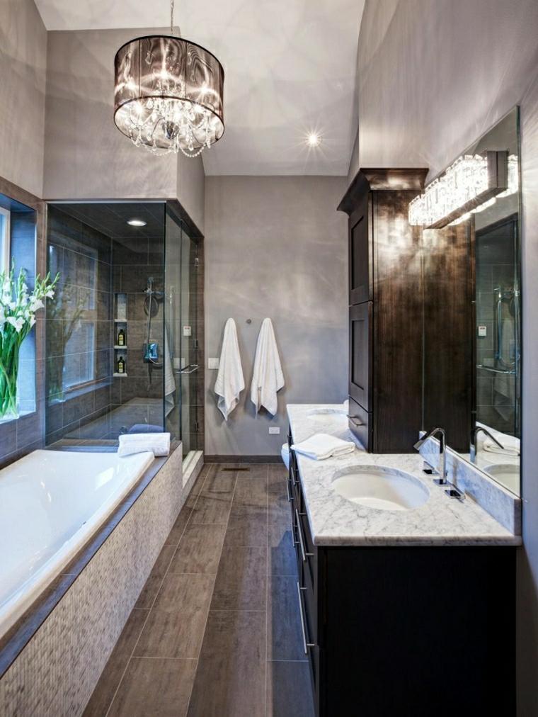 Vasca da bagno con doccia 24 idee da togliere il fiato for Bagno con doccia