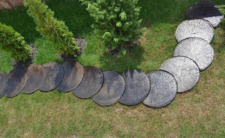 Vialetti giardino 34 proposte per abbellire il proprio outdoor - Camminamento pietra giardino ...