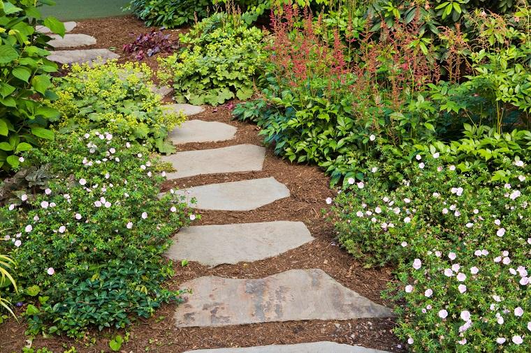 Camminamento Giardino Fai Da Te.Vialetti Giardino 34 Proposte Per Abbellire Il Proprio Outdoor