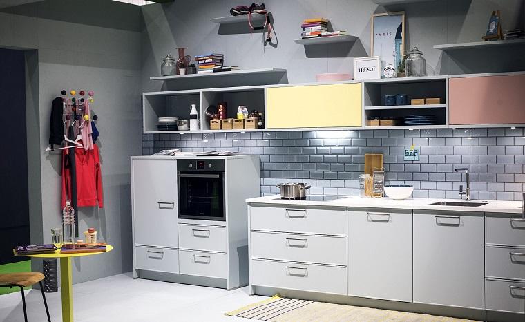 Cucina Bianca E Grigia Un Tocco Di Stile Alla Vostra Zona Giorno Archzine It