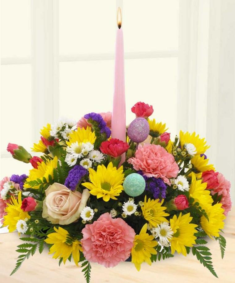 addobbi pasquali fai da te decorazioni floreali