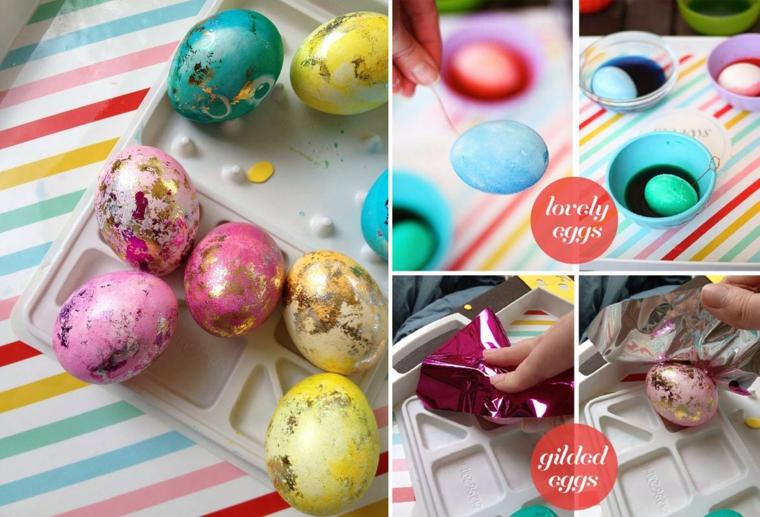 addobbi pasquali fai da te idea decorazione uova