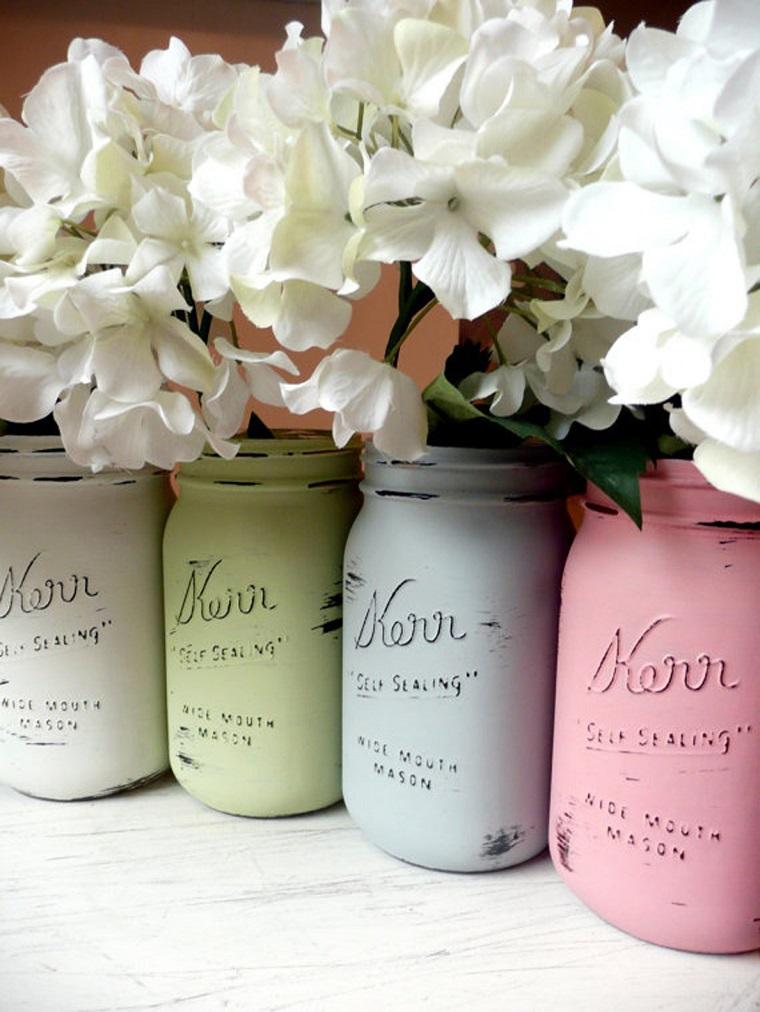 addobbi primavera vasi colorati fiori