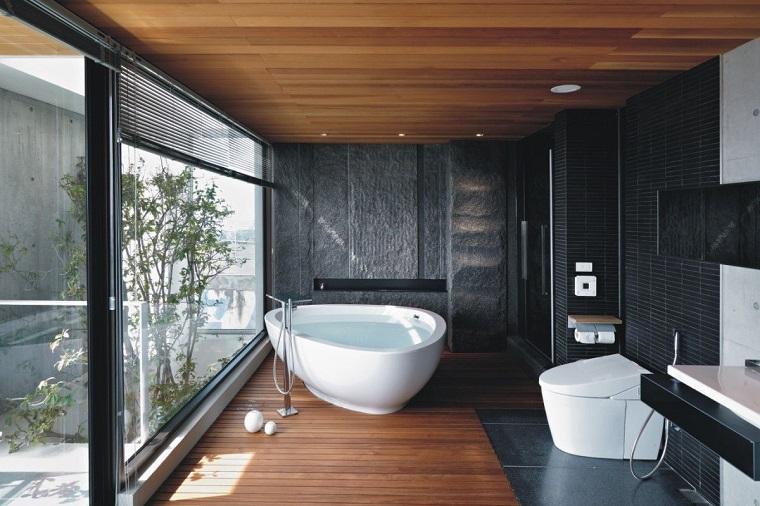 ambiente elegnate raffinato vasca forma particolare
