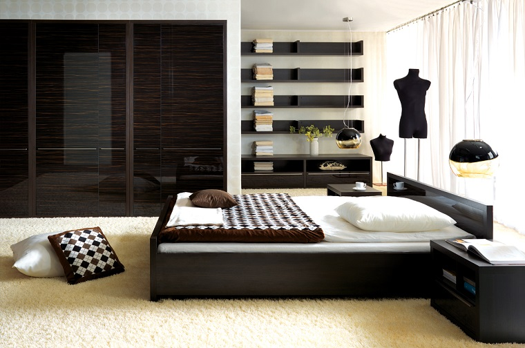 Mobili moderni proposte imperdibili per tutta la casa for Camera letto nera