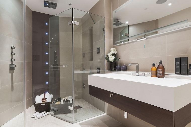 arredamento bagno stile contemporaneo box doccia
