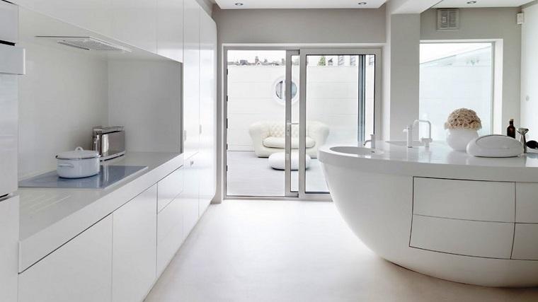 Arredamento bianco e alcune tendenze in voga negli ultimi for Arredamento casa bianco