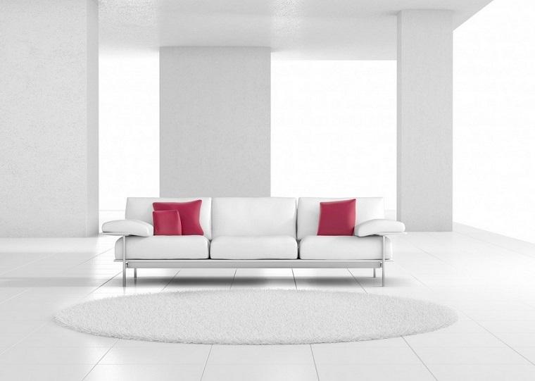 Arredamento bianco e alcune tendenze in voga negli ultimi for Arredamento moderno rosso