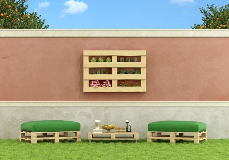 Arredamento con bancali di legno 24 idee per la casa con for Arredamento da giardino con bancali
