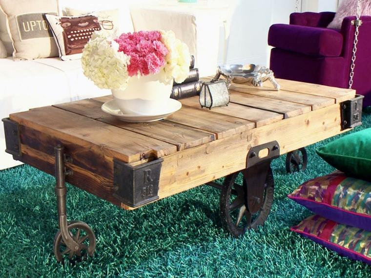 arredamento con bancali tavolino basso pallet