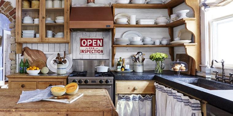Arredamento country voglia di campagna in tutta la casa - Arredamento casa rustica ...