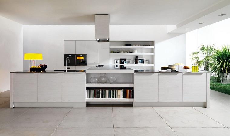 arredamento fai da te cucina stile moderno total white