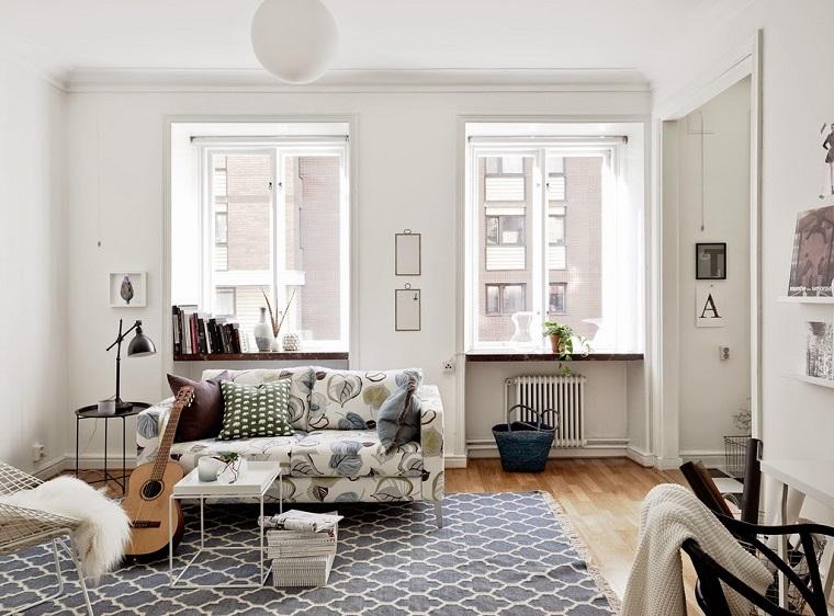 arredamento fai da te idea soggiorno stile scandinavo