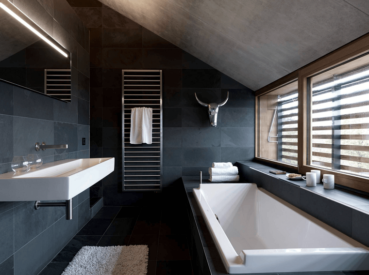 arredamento minimal idea originale bagno