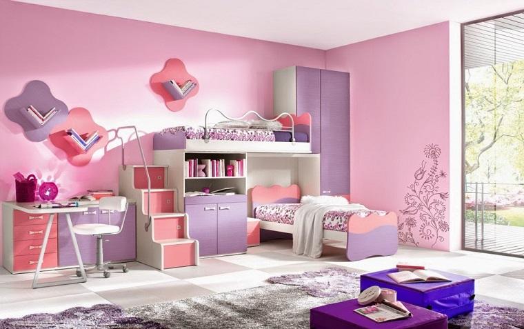 Pareti Rosa Camera Da Letto : Colori pareti camerette tonalità idee e accostamenti di tendenza