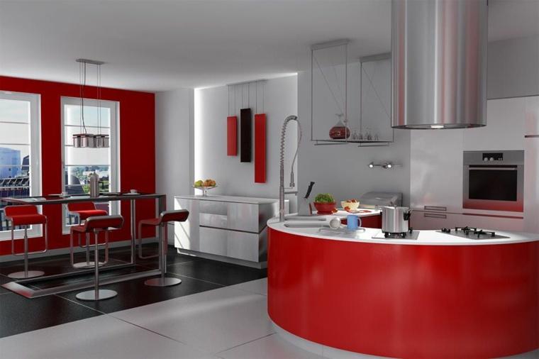 Cucina rossa: passione, vitalità ed eleganza in un unico colore ...