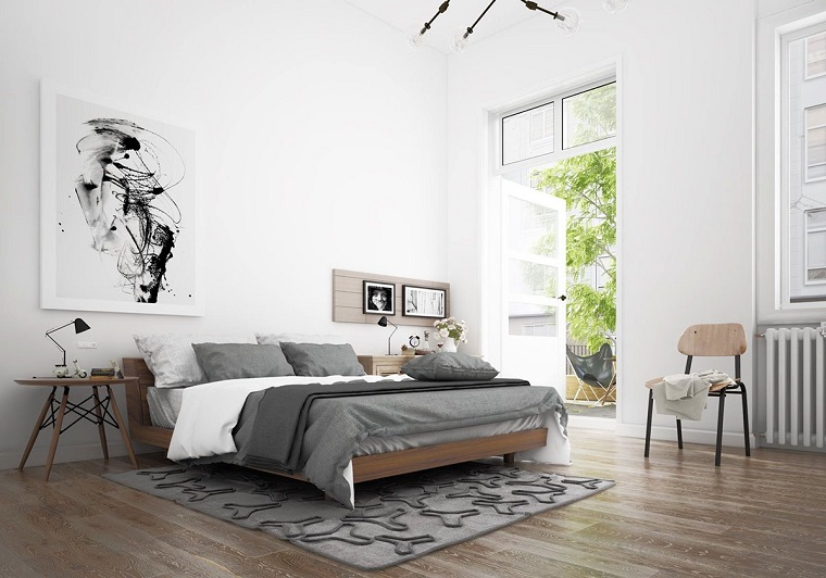 Camera Da Letto Stile Minimalista : Stile nordico atmosfere suggestive per il living e la camera