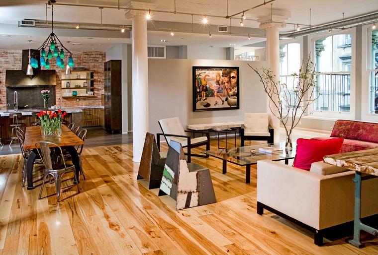 arredamento open space design originale salotto particolare