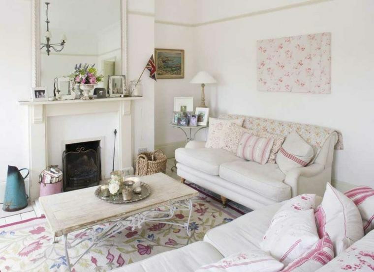 arredamento shabby chic suggerimento originale soggiorno
