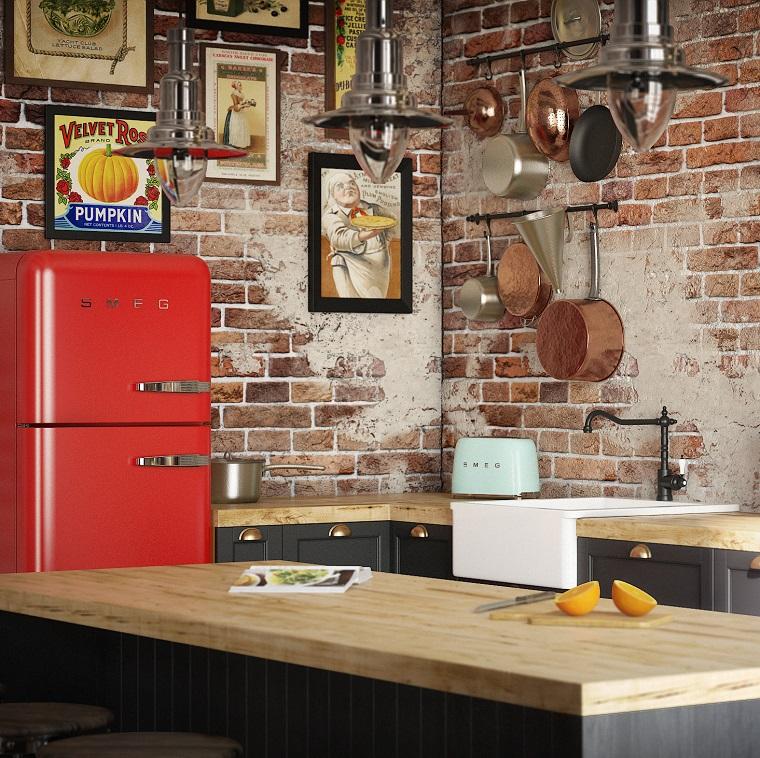 Cucina stile industriale idee e suggerimenti per un for Arredamento industriale