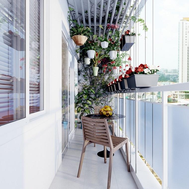 Arredare terrazzo suggerimenti originali per il vostro for Piante da terrazzo molto soleggiato