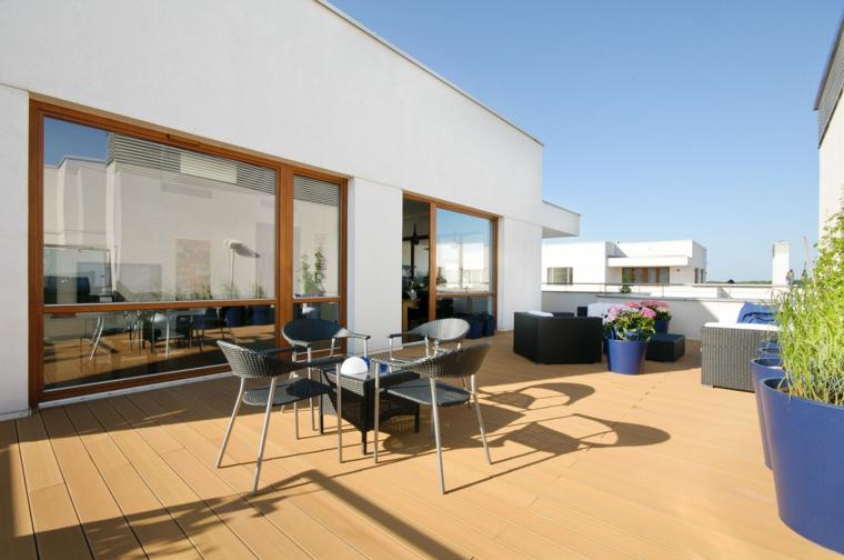 arredare balcone proposta design semplice originale moderno