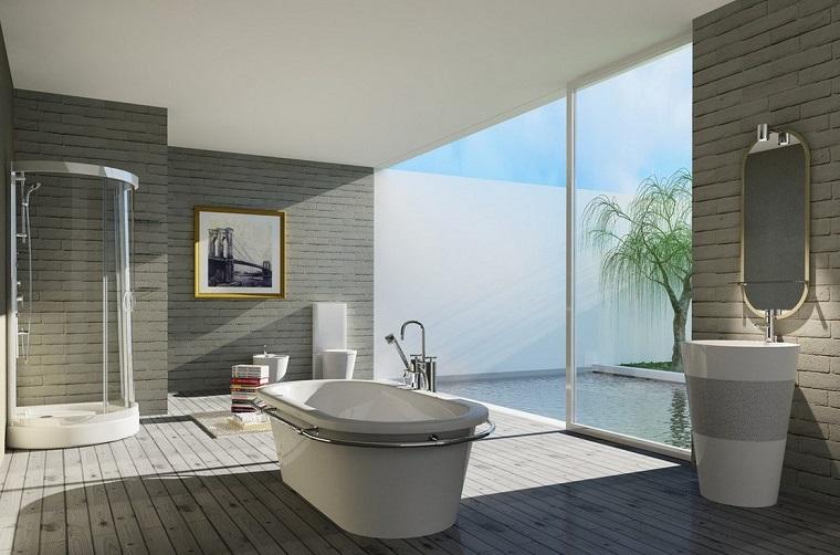 arredare casa moderna bagno design vasca